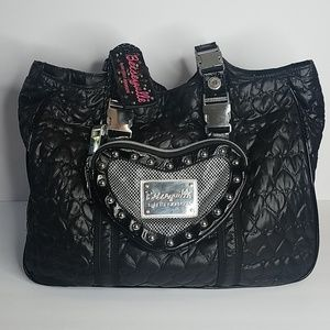 Betsey Johnson Quilted Carry On